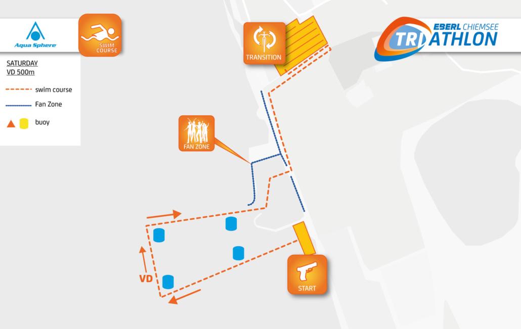 Sprint Distance - EBERL Chiemsee Triathlon
